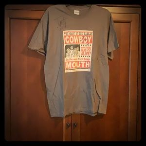Signed Cowboy Mouth Rock Tee